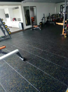 Gym mat tile indoor
